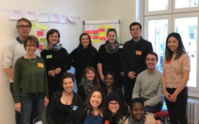Students of Waterloo University at InnovationLabs.Berlin